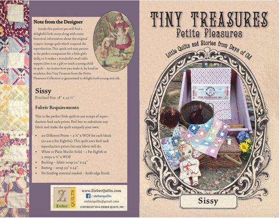 Tiny Treasures: Sissy